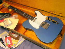 Fender New American Vintage And03964 Telecaster Lpb Electric Guitar Used