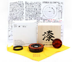 New Ms-optics Aporia 24mm F/2 Red Flame Paint Edition Leica M Mount