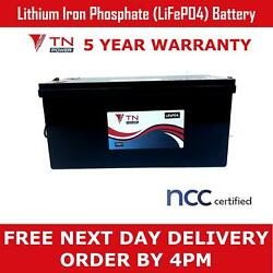 Tn Power Lithium Leisure Battery 12v 216ah Lifepo4 For Camper Motorhome Boat