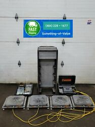 Longacre Racers Computer Weight Go-kart Scales 72588 W/ Laser 1500lbs Cart K