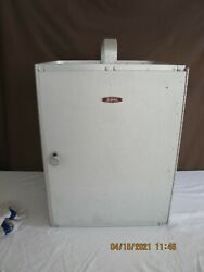 Rare Aluminum Canned Sterno Oven Warming 3 Shelves Locks Top Handle