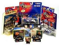 Nascar Lot Of 9 Rusty Wallace Collectibles Diecast Cars Most Sealed Vintage