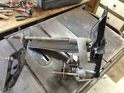 Used Gravely Walk Behind Mower Drive Mount Differential Assembly 51102400