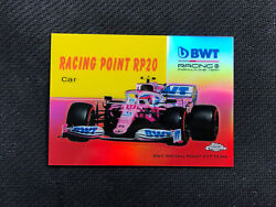2020 Topps Chrome Formula 1 Racing Point Rp20 '54 World On Wheels Red Ed 2/5