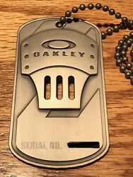 Rare Employee Only Issued Id Dog Tag Badge. Metal Works