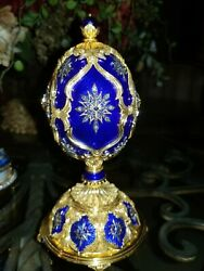 Franklin Mint Faberge Egg- Star Of The North