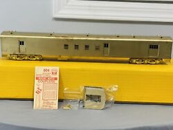 Sunset Models O Scale 2r Brass New York Central Nyc Rpo Baggage Passenger Car Ob