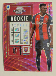 Musa Barrow 2020-21 Chronicles Fotl Contenders Optic Rookie Ticket Pink Wave /19