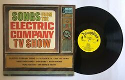 V/a Songs From The Electric Company Lp Disneyland Ster1350 Us 1973 Vg+ 12b