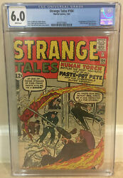 Strange Tales 104 Cgc 6.5 1st Appearance Paste-pot Pete Later Become Trapster