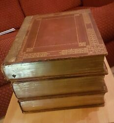 3 Volume Antiquarian King James Bible 1817 Edition Dandrsquooyly And Mant Collectible