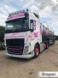 Roof Bar + Leds + Led Spots S + Clear Beacons For Volvo Fh4 13+ Globetrotter Xl