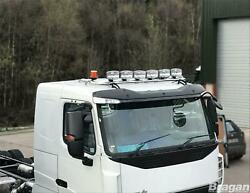 Roof Bar + Leds + Led Spots S + Amber Beacons For Iveco Trakker Low Cab Truck