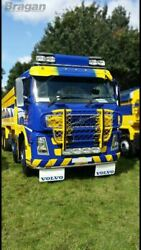 Roof Bar + Leds + Led Spots S For Volvo Fh Series 2 And 3 Low Standard Sleeper Cab
