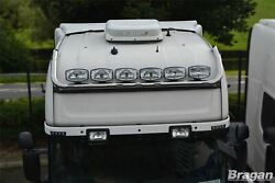 Roof Bar + Leds + Led Spots S For Scania P G R 6 Series 09+ Topline Stainless