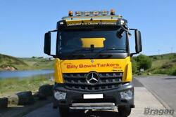 Roof Bar + Leds + Led Spots S + Amber Beacon For Mercedes Arocs Classic Low Cab