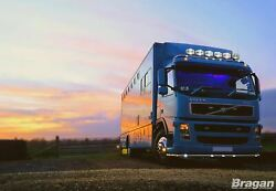 Roof Bar + Leds + Led Spots S For Volvo Fm Series 2 And 3 Low Standard Sleeper Cab