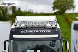 Roof Bar + Led Spots S + Clear Beacon For Daf Xf 106 2013+ Super Space Stainless