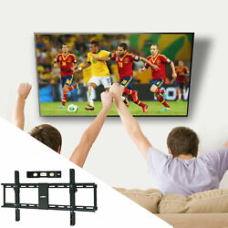 Universal Tilting Tv Wall Mount Bracket Low Profile For Most 32-85 Large Screen