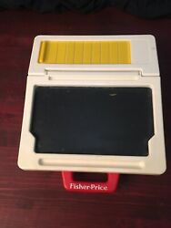 Vintage Fisher Price Play Desk With Accessories 1990