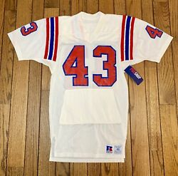 Ernest Gibson Game Used Worn Team Issued New England Patriots Nfl 80's Jersey