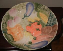 Fitz And Floyd Large Vegetable Serving Bowl - New