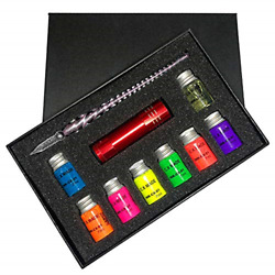 Calligraphy Pens Set Glass Dip Pen Ink Kits With Fluorescent And Invisible Ink Pen