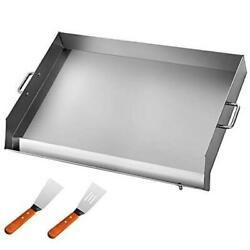 Universal Flat Top 36 X 22 Griddle For Bbq Grills Stainless Steel Non-stick