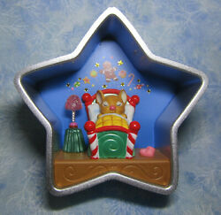 Hallmark Ornament Cookie Cutter Christmas 2015 Star Mouse In Bed No Box