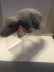 Ty Tank Beanie Babies 3rd Gen Hang Tag And 2nd Gen Tush Tag Pristine Condition.andnbsp