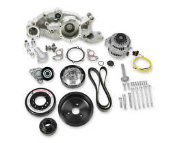 Holley Mid Mount Race Accessory Drive Kits Aluminum Hard Anodized Crank Pulley