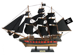 Wooden Calico Jack's The William Black Sails Limited Model Pirate Ship 26