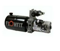 Up100 12v Dc Double Acting Solenoid Operated Hydraulic Power Unit 9.5 L/min 15
