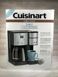 Cuisinart Model Ss-15 Coffee Center 12-cup 2-in-1 Coffee Maker K-cup - Dual Brew