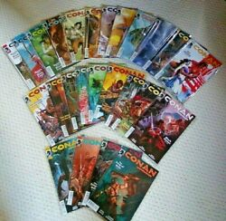 Conan The Barbarian, Dynamite Comics, First Print, 25 Issues, 8 Complete Stories