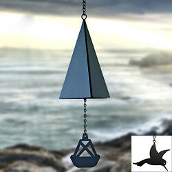 North Country Wind Bells Inc. 123.5016 Puget Sound Bell With Hummingbird Wind C