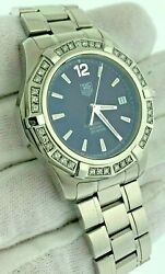 Tag Heuer Aquaracer Automatic Diamond Bezel Stainless Steal Watch