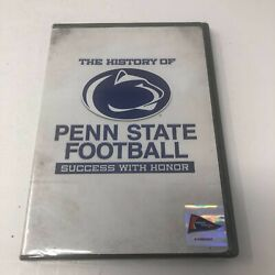 The History Of Penn State Football Dvd 2007 Success With Honor New Sealed