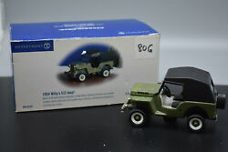 Dept 56 1954 Willyand039s Cj3 Jeep Classic Car Snow Village 56-55287 Preowned