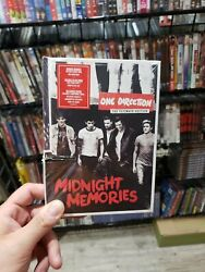 One Direction Midnight Memories The Ultimate Edition New Sealed/cut In The Case