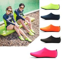 Diving Barefoot Water Skin Shoes Anti skid Socks Beach For Swimming Surf Unisex $9.18