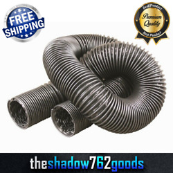 2-1/2 Inch Duct Hose Ac Heater Defrost 6 Feet Plastic Free Shipping