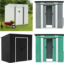 🎪 4 X 6 Ft Large Resin All Weather Outdoor Plastic Backyard Garden Storage Shed