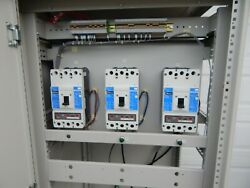 Lot Of 3 Cutler-hammer Hkd3400f400a 600vac industrial Control System Cabinet