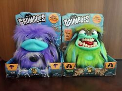 Grumblies Set Of 2 Bolt And Tremor Brand New Never Been Opened
