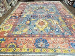 9x12 Safavieh Rug Sultanabad Collection Indian Carpet Wool Pile Colorful Rug