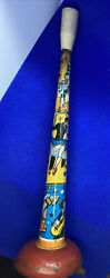 Old Vtg Metal Toy Noise Maker Tin Horn 11 Works 4th July New Years Fair Prize