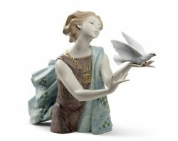 Lladro Allegory To The Peace 60th Anniversary Woman. Limited Edition 01008684