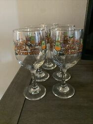5 Witch Way To The Wine Halloween Goblet Glass