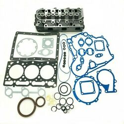 For Kubota D1105 Cylinder Head Complete With Full Gasket Std Rtv1100 Rtv1100cw9
